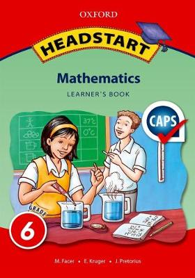 Picture of Headstart mathematics: Gr 6: Learner's book
