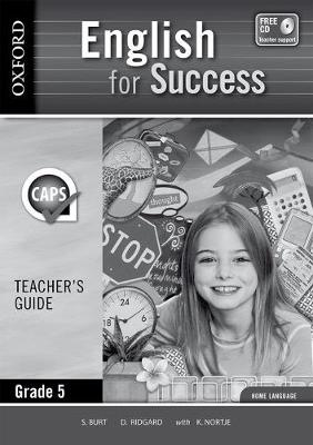 Picture of English for success CAPS: Gr 5: Teacher's book