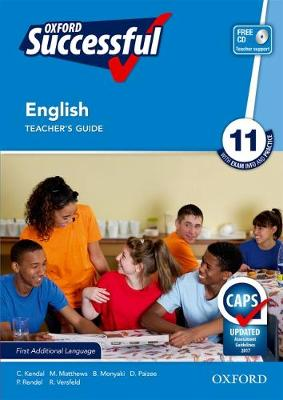 Picture of Oxford successful English CAPS: Gr 11: Teacher's book and CD : First additional language