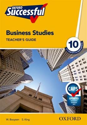 Picture of Oxford successful business studies CAPS: Gr 10: Teacher's guide
