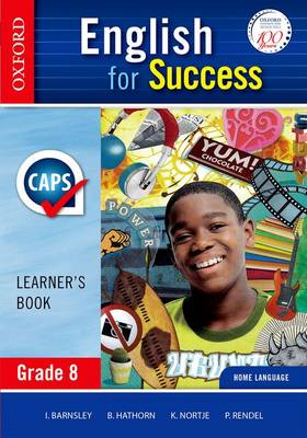Picture of English for success CAPS: Gr 8: Learner's book