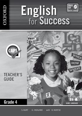 Picture of English for success CAPS: Gr 4: Teacher's book