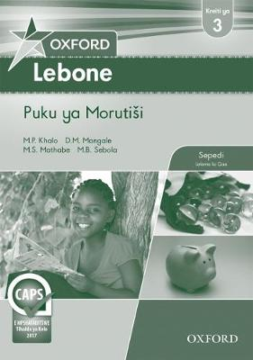 Picture of Oxford lebone: Gr 3: Teacher's guide : Home language