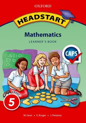 Picture of Headstart Mathematics: Headstart mathematics: Gr 5: Learner's book Gr 5: Learner's Book
