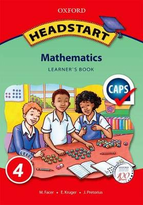 Picture of Headstart mathematics: Gr 4: Learner's book