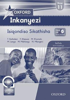 Picture of Oxford inkanyezi: Gr 11: Teacher's book