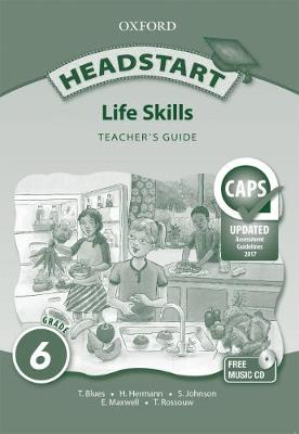 Picture of Headstart life skills CAPS: Gr 6: Teacher's book