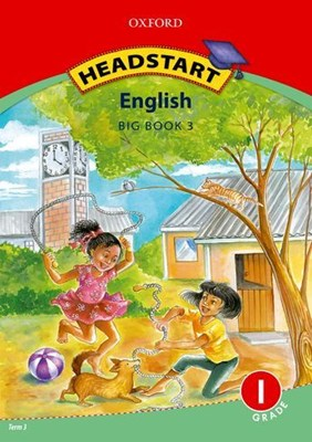 Picture of Headstart English CAPS: Big book 3: Gr 1 : First additional language