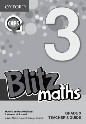 Picture of Blitz maths : Gr 3: Teacher's book