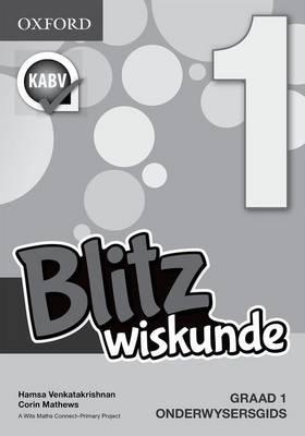 Picture of Blitz Wiskunde: Blitz wiskunde: Gr 1: Onderwysersgids Gr 1: Onderwysersgids