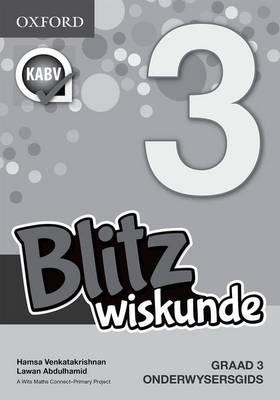 Picture of Blitz Wiskunde: Blitz wiskunde: Gr 3: Onderwysersgids Gr 3: Onderwysersgids