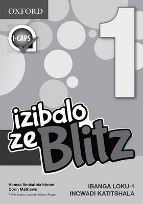 Picture of Blitz Maths: Blitz maths : Gr 1: Teacher's guide Gr 1: Teacher's Guide