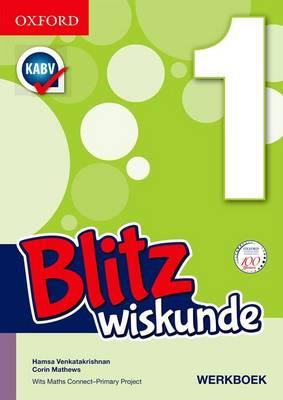 Picture of Blitz wiskunde: Gr 1: Leerdersboek