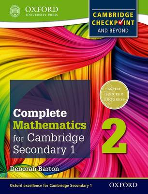 Complete Mathematics for Cambridge Lower Secondary 2 : Cambridge Checkpoint and beyond