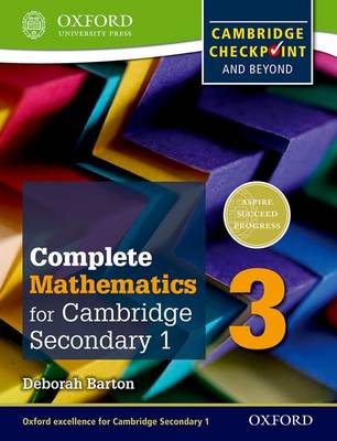 Complete Mathematics for Cambridge Lower Secondary 3 : Cambridge Checkpoint and beyond
