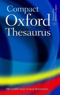 Picture of Compact Oxford Thesaurus : Third edition revised