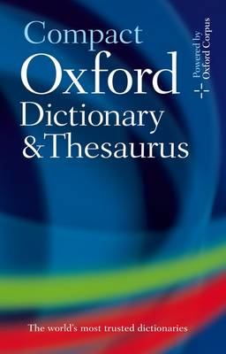 Picture of Compact Oxford Dictionary & Thesaurus