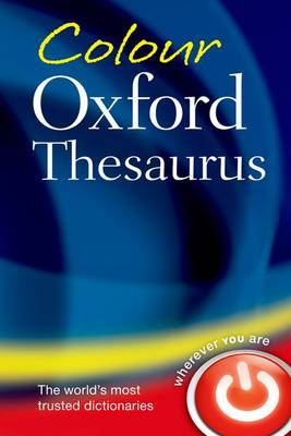 Picture of Colour Oxford Thesaurus