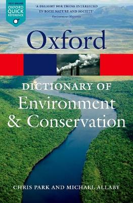 Picture of A Dictionary of Environment and Conservation