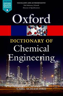 Picture of A Dictionary of Chemical Engineering