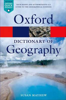 Picture of A Dictionary of Geography