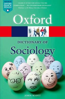 Picture of A Dictionary of Sociology