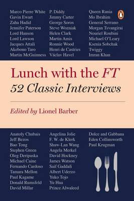 Picture of Lunch with the FT : 52 Classic Interviews