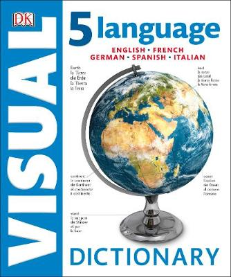 Picture of 5 Language Visual Dictionary : English, French, German, Spanish, Italian