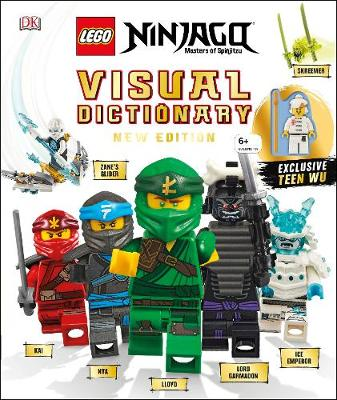 Picture of LEGO NINJAGO Visual Dictionary New Edition : With Exclusive Teen Wu Minifigure
