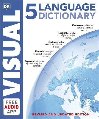 Picture of 5 Language Visual Dictionary