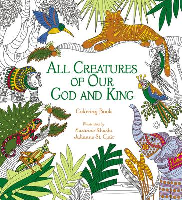 Picture of All Creatures of Our God and King Adult Coloring Book : Coloring Book