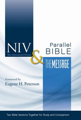 Picture of NIV, The Message Side-by-Side Bible, Hardcover : Two Bible Versions Together for Study and Comparison