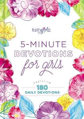 Picture of 5-Minute Devotions for Girls : Featuring 180 Daily Devotions