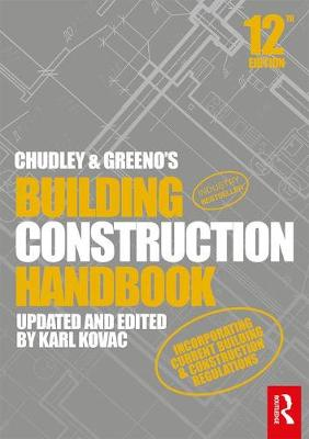 Picture of Chudley and Greeno's Building Construction Handbook