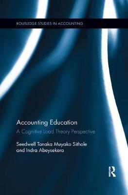Picture of Accounting Education : A Cognitive Load Theory Perspective