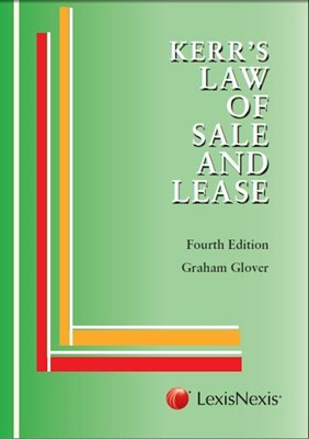 Picture of Law of sale and lease