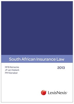 Picture of Insurance law of South Africa