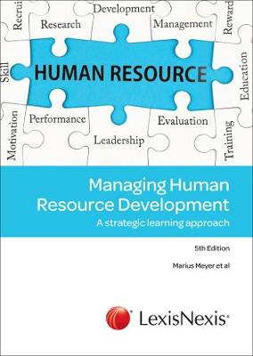 Picture of Managing human resource development : A strategic learning approach