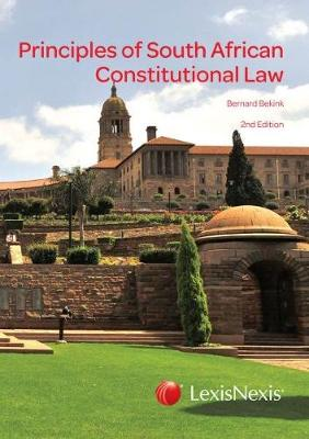 Picture of Principles of South African constitutional law