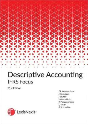 Picture of Descriptive accounting IFRS focus