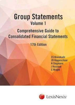 Picture of Group statements : Volume 1 : Comprehensive guide to consolidated financial statements