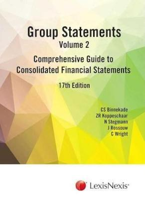 Picture of Group statements : Volume 2 : Comprehensive guide to consolidated financial statements