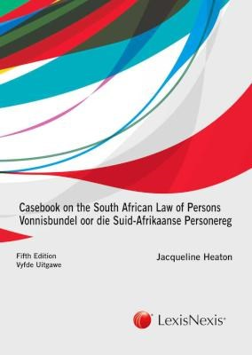 Picture of Casebook on the South African law of persons / Vonnisbundel oor die Suid-Afrikaanse personereg