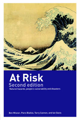 Picture of At Risk: Natural Hazards, People's Vulnerability and Disasters