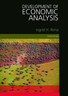 Picture of Development of Economic Analysis