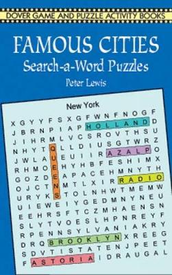 Picture of Famous Cities Search-a-Word Puzzles