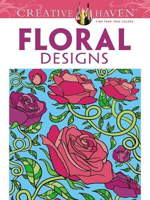 Picture of Floral Designs Coloring Book