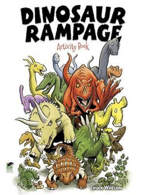 Dinosaur Rampage Activity Book