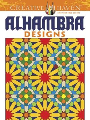Picture of Creative Haven Alhambra Designs Coloring Book