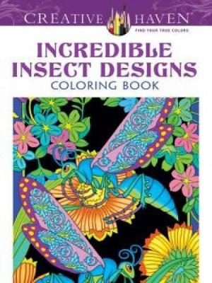 Picture of Creative Haven Incredible Insect Designs Coloring Book